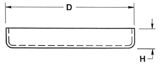 Low Form Quartz Crucibles with Lid