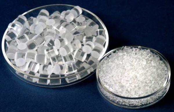 Quartz Tubing Beads 4mm ID x 6mm OD x 6mm