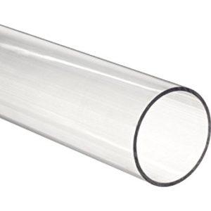 """Clear Fused Quartz Tubing 1mm ID 2mm OD 48"""" L"""