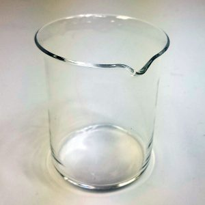Quartz Beakers (Low Form, Griffen Type with pour out)